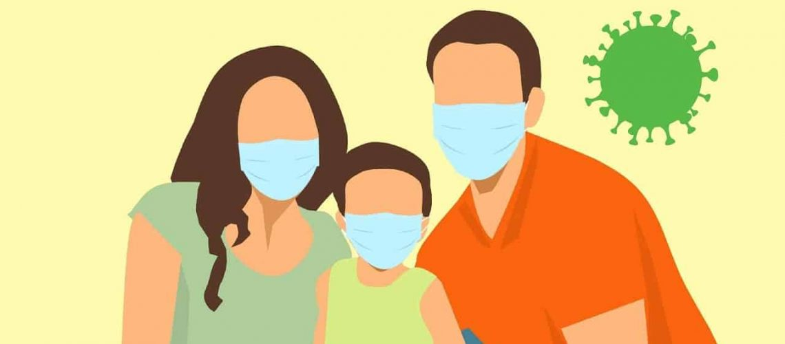 virus, protection, family